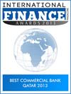 Best Commercial Bank Qatar 2013